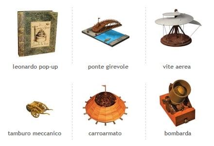 Giochi educativi Da Vinci
