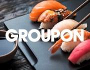 Come ottenere codici sconto Groupon per i ristoranti sushi vicini a te