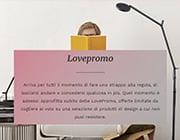 Cosa sono le Lovepromo di LOVEThESIGN?