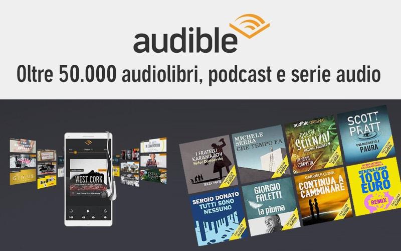 Audible 50.000 audiolibri