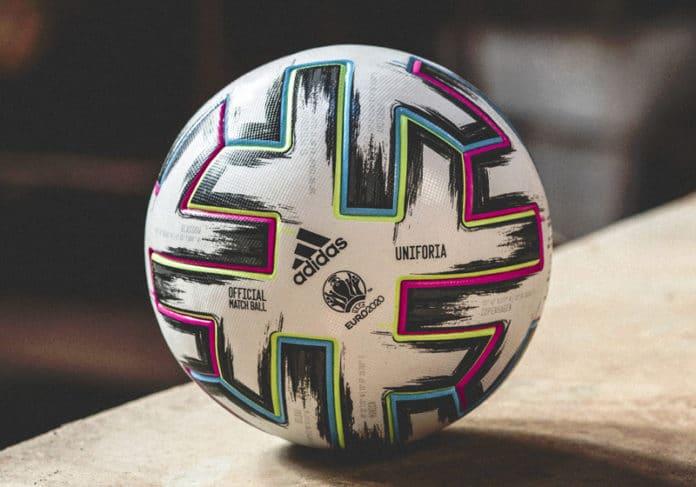 Pallone calcio Euro 2020 Uniforia