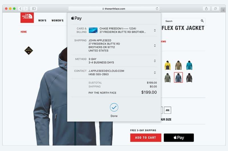 Come pagare con Apple Pay su Safari