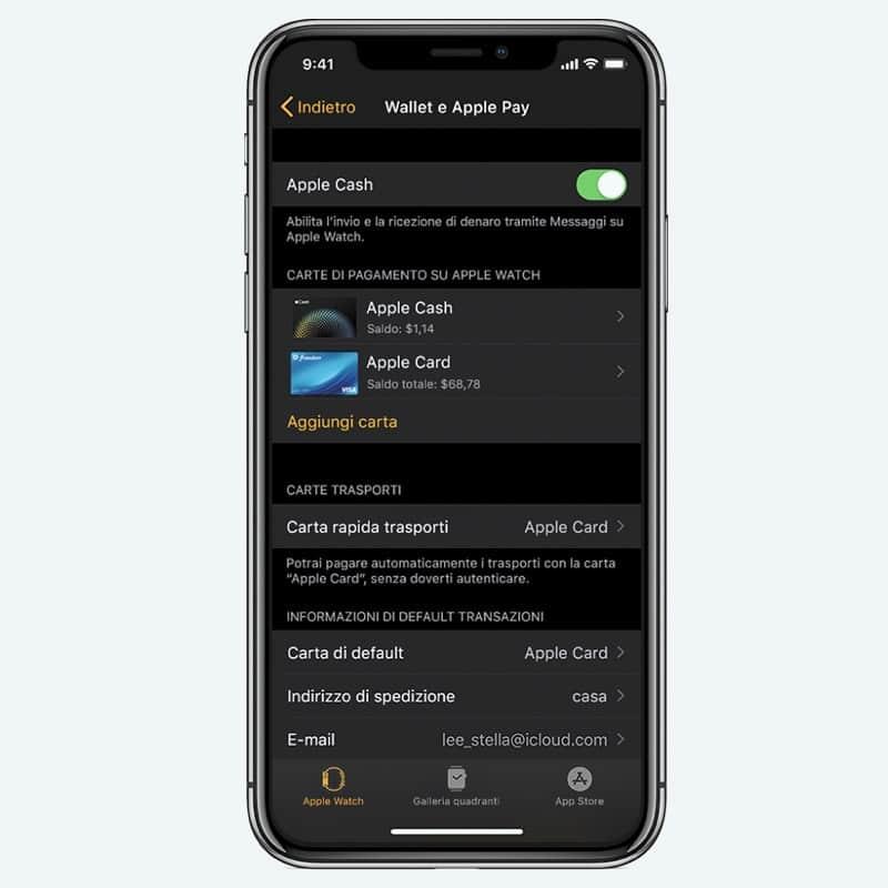 Come configurare Apple Pay