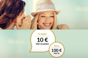Fino a 100€ di sconto per te, Porta i tuoi amici su EasyCoop