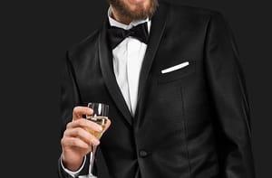 10% di codice sconto sugli abiti e smoking