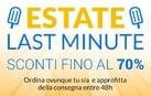 Estate Last Minute: sconti fino al 70%